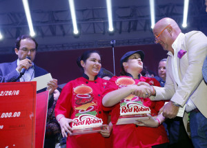 Brian Blanco/AP Images for Red Robin