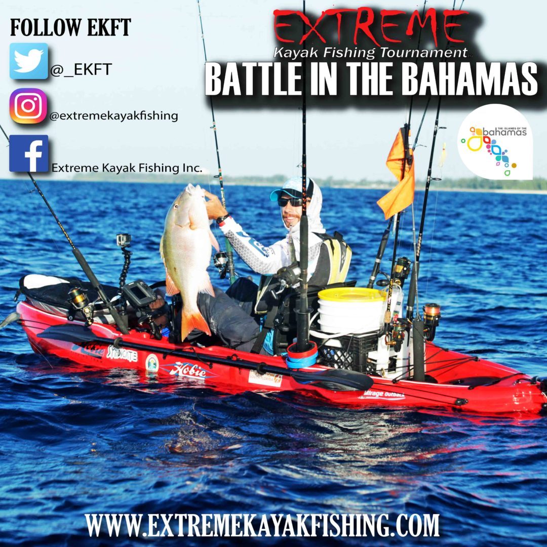 Extreme kayak fishing tournament south florida for Fishing nassau bahamas