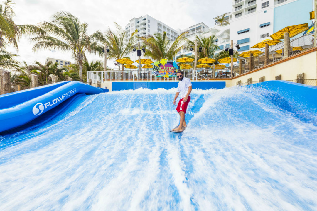 Flowrider at the Margaritaville Hollywood Beach Resort