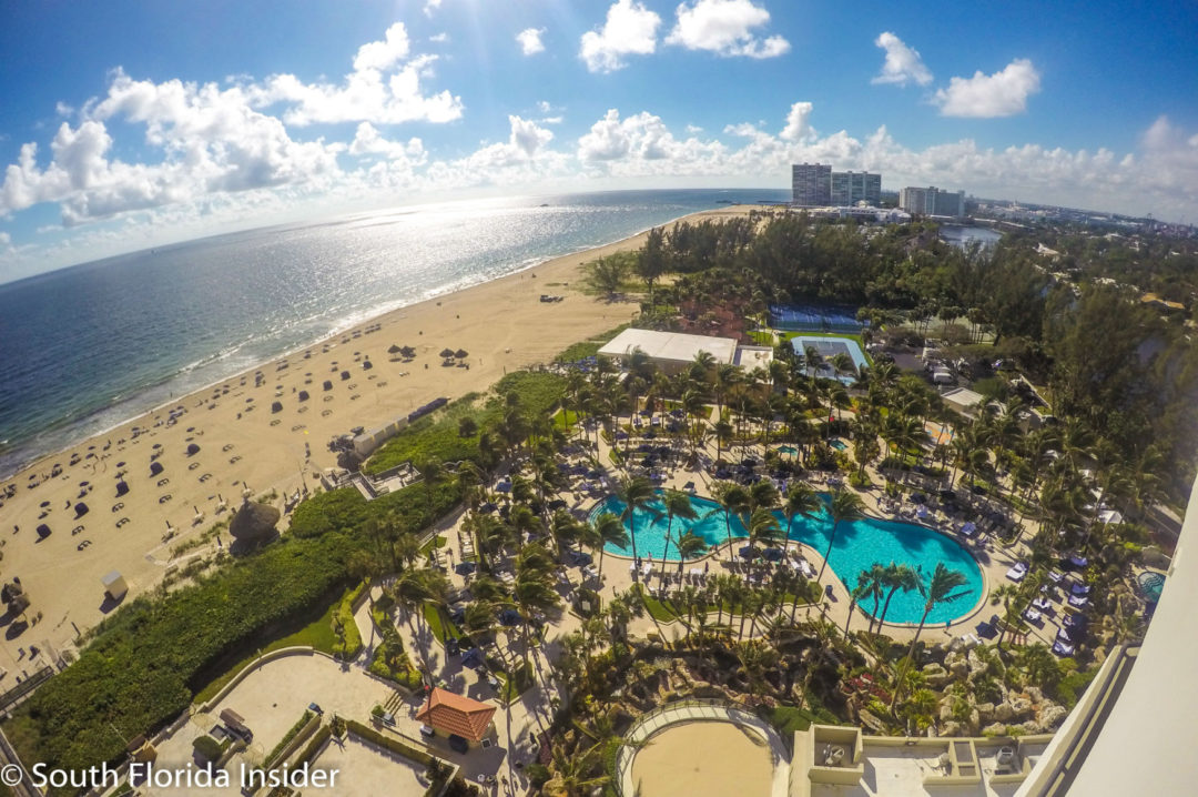 Fort Lauderdales Marriott Harbor Beach Resort  Spa is