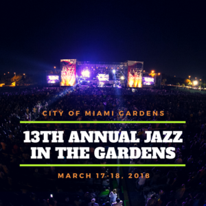 Jazz In The Gardens Releases 2018 Line Up Hard Rock Stadium South Florida Insider