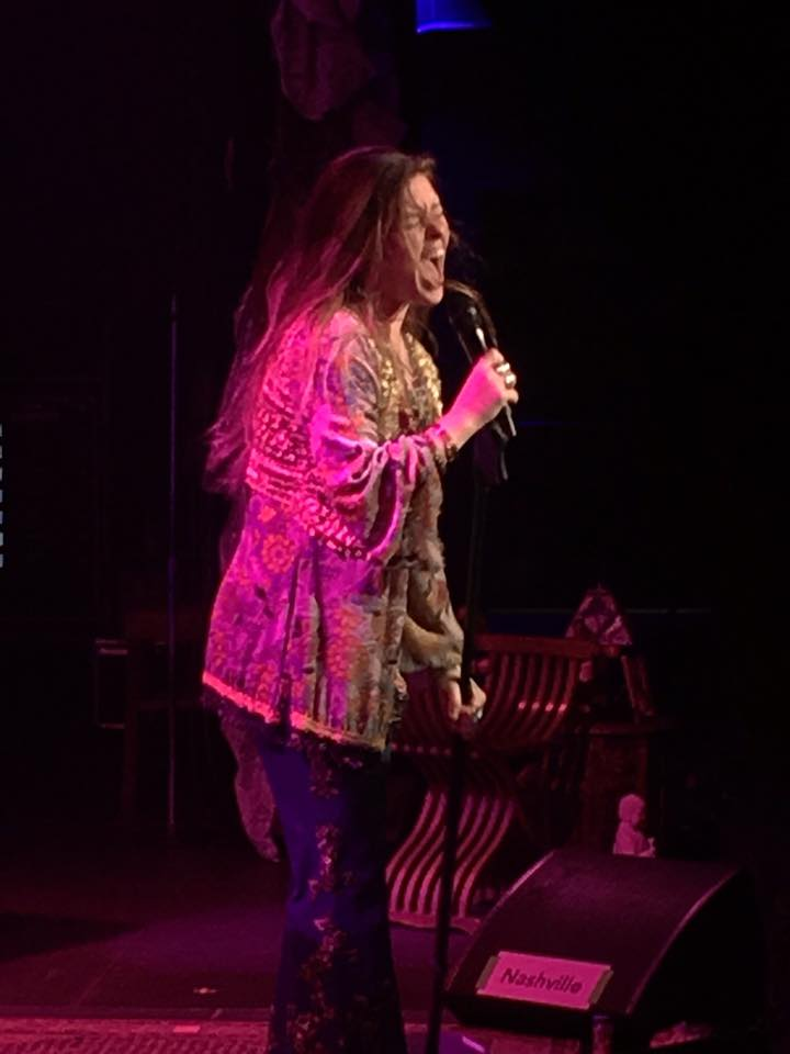 Kelly McIntyre performs during A Night With Janis Joplin
