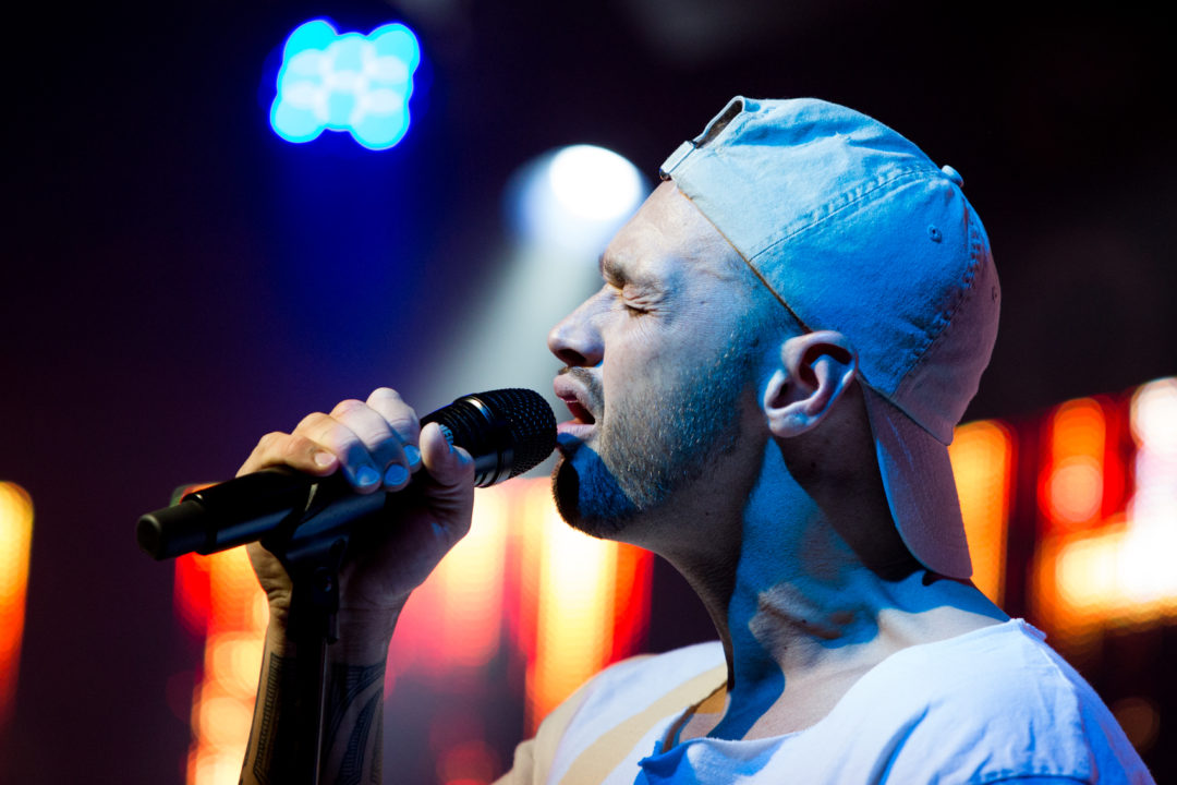 Sammy J performs during the Marching Orders Tour at the Culture Room