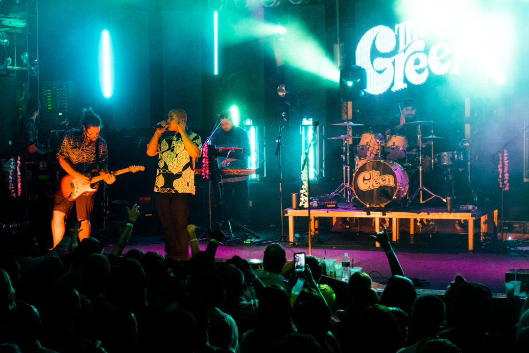 The Green performs during the Marching Orders Tour at the Culture Room