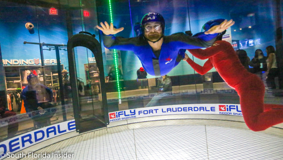 Immersive Vr Experience At Ifly Ft Lauderdale